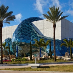 The new Salvador Dali museum in St. Petersburg, Florida, opens January 11, 2011.