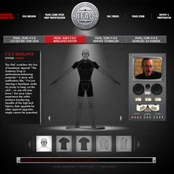 "Pretty cool website trying to stop the use of ""Performance Enhancing Apparel"" in sports."