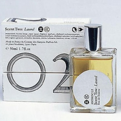 Comme des Garcons and Monocle have released their second scent - Scent Two: Laurel.