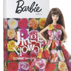 Comme des Garcons gives Barbie a new look as part of their Christmas 2009 campaign.