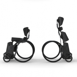 "Industrial designer Ben Thorpe's ""Urban Wheelchair"" that empowers its user to sit or stand on their own volition. Loving how technology can help liberate the disabled."