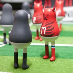 Sticky Monster Lab from Korea has created a series of characters, as well as an animation film for Nike Sportswear.