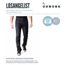 LOSANGELIST ~ a new blog focusing on men's fashion, gear, art & entertainment - all created & born in Los Angeles.
