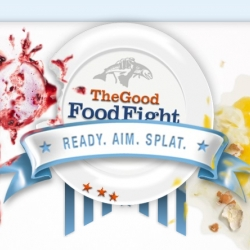 The GOOD Food Fight ~ fun flash game that teaches you some new healthier recipes, and then you face off in a food fight against the opponent of your choice.