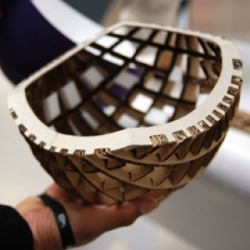 Anirudha Surabhi's brilliant cardboard Kranium bike helmet, 4 times stronger than conventional polystyrene helmets!