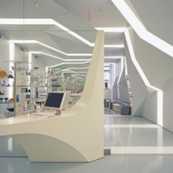 Alessi Flagship Store in Soho, New York City by Asymptote Architecture.
