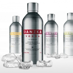 Danzka is my new favorite vodka! It goes down smooth and comes in a cool thermos-like bottle!