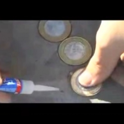 How to make an outdoor ad no one can ignore with 400 coins.... for super bonder - cute video