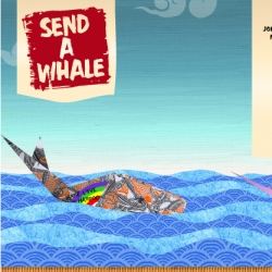 Fun Greenpeace campaign! Make an online origami whale message and help stop whaling in the process.