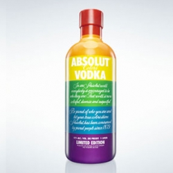 To celebrate the 30th anniversary of the rainbow flag, Absolut is releasing a limited edition Rainbow bottle on July 1st.