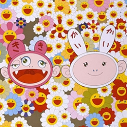 "Murakami releases a series of prints entitled ""My First Art"", some of his most famous pieces."