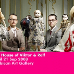 Victor and Rolf's giant doll house at the Barbican is amazing, if you happen to be in Lonon defiantly worth a look!