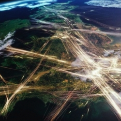 "Absolutely amazing video of all kinds of traffic,  as seen from space. From the BBC's ""Britain from Above"""