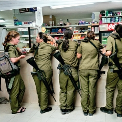 "Rachel Papo's ""Serial No. 3817131"" is a photo series sharing the world of israeli 18 year old girls going to their national service duty"