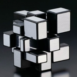 Rubik's Cube mirror blocks puzzle ~ a new twist on the original design and proportions... check out the video!
