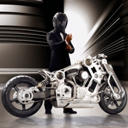 Neiman Marcus Christmas book! Limited-Edition Fighter Motorcycle Price $110,000.00