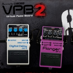 The Boss Virtual Pedal Board - now i know what stomp box i will use