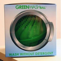 Greenwashing Ball ~ sure its for laundry... call my cynical, but when i saw it, i imagined it was for marketers to toss in with failing products to spruce them up to be popular!