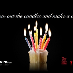 Cunning has turned 10 - to celebrate they've baked an online birthday cake. Blow out their candles with your mouse or camera. For every wish made, they will donate to Action For Children (UK) or Children in Need (US).