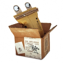 the box doodle project - the rules are quite simple: rearrange a box to make any kind of figure or object. make the most of least.