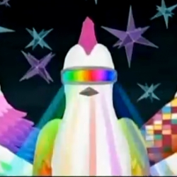The video for Mind Wall is really fun. It reminds me of Warioware meets Katamari Damacy.