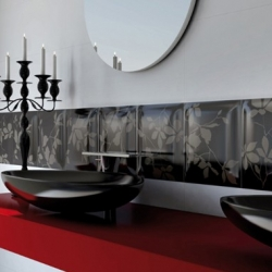 Two-Color Tiles from Viva Ceramica - Chanson D'amour