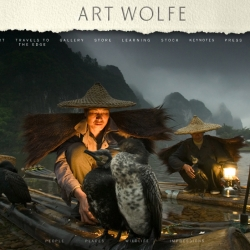 Brand new website for the revolutionary and prolific nature photographer, Art Wolfe.