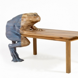 Fascinating Animal Tables by Hella Jongerius going on display in Paris ~ great pics over at Dezeen