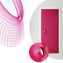 Albeda present during the Milan Design Week 2009 his collection of doors designed by the designer Karim Rashid ...