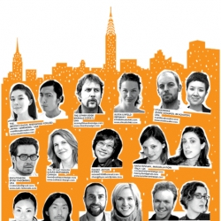 Sneak peek of who's going to be at the NY ICFF Designboom Mart!
