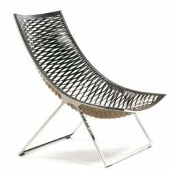Matteo Grassi's Loom Armchair designed by Franco Poli