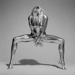 These amazing photos of silvered nudes from his SILVEREYE series by Guido Argentini are available now as limited edition prints!