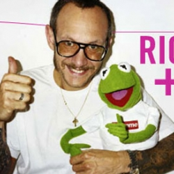 Terry Richardson will present a new exhibition at Colette in Paris, and he worked with Kermit and legendary NYC brand Supreme. Something to look out for!