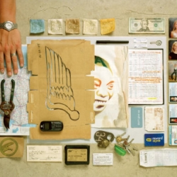 What are your artifacts?  What objects do you carry with you each day?  Photographer Francois Robert lays them out on the table for us all to see, and it's an interestingly intimate peep-show.