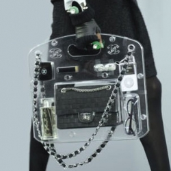 Karl Lagerfeld never misses an opportunity to surprise - this latest Chanel bag is brilliant!