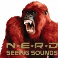 Here a look at the album artwork of the upcoming Seeing Sounds album by NERD.