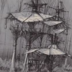 """Production designers tour the crazy Tree House in """"Crusoe"""""""