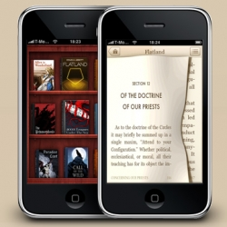 Even more interesting than the Classics iPhone app is the behind the scenes, where they designed every book cover and book layout just for the app!