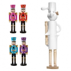 Magasin asked Normann Copenhagen to make their version of the Nutcracker soldier as part of a charity project helping the Danish red cross. SO CUTE! Such a pity it cracked...