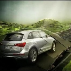 Audi Q1 TV spot by NY/LA Psyop. Very cool use of CG and real people.