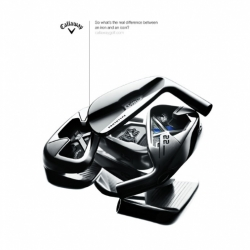 The beautiful photography for the new Callaway Golf 2009 product range by London photographer Richard Foster for UK agency Nexus|h.