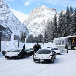 Lamborghini Academy ~ you can even play in the snow!