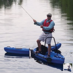 A Fishing Kayak you can STAND UP on