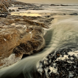 South African photographer, Michell Krog's collection of seascapes is surreal and breathtaking.