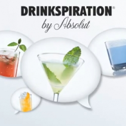 the Absolut Drinkspiration iPhone app. creative and visual beauty with great utility.