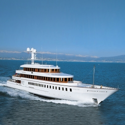 Philippe Starck has released his latest creation and it's stunning, a 215 foot yacht named the Wedge Too.