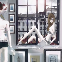 CoolHunting has a nice interview with Fashion Illustrator Michael Sanderson