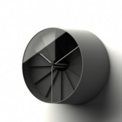 4th Dimension - a new wall clock with a sense of both space and time by 22designstudio to be launched at this year's London Design Festival.