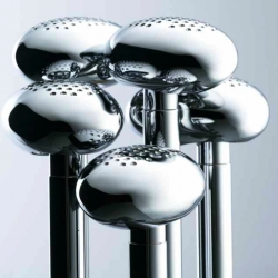 Futuristic bathroom fixtures by Ross Lovegrove for VitrA - part of the Istanbul Collection.