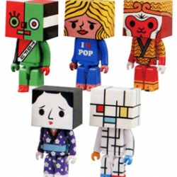 "New toys for the art enthusiast. The Tofu toy by Japanese company Medicom comes under the ""Art of the World"" theme!"